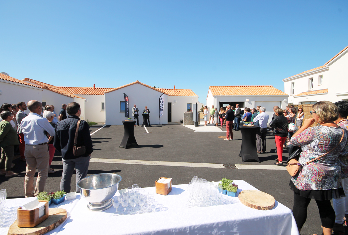 Inauguration Logis de Victorine 13.09.19 Groupe SATOV