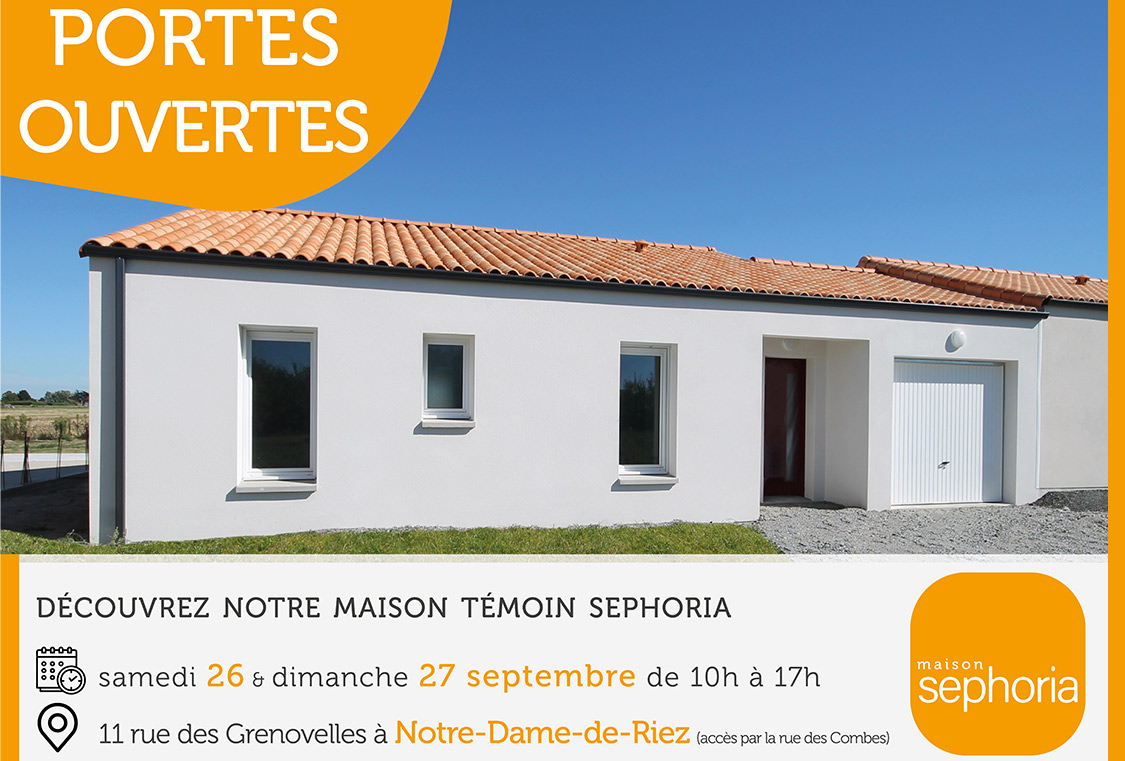 Portes-ouvertes-maison-Sephoria-26-et-27-septembre-Notre-Dame-de-Riez---Constructeur-de-maison-Vendée-et-Pays-de-Retz-Groupe-Satov